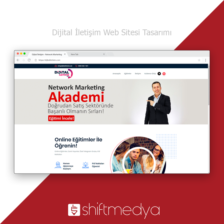Dijital İletişim – Web Sitesi Tasarımı